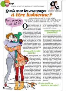 Clichés sur les lesbiennes...dans la presse.