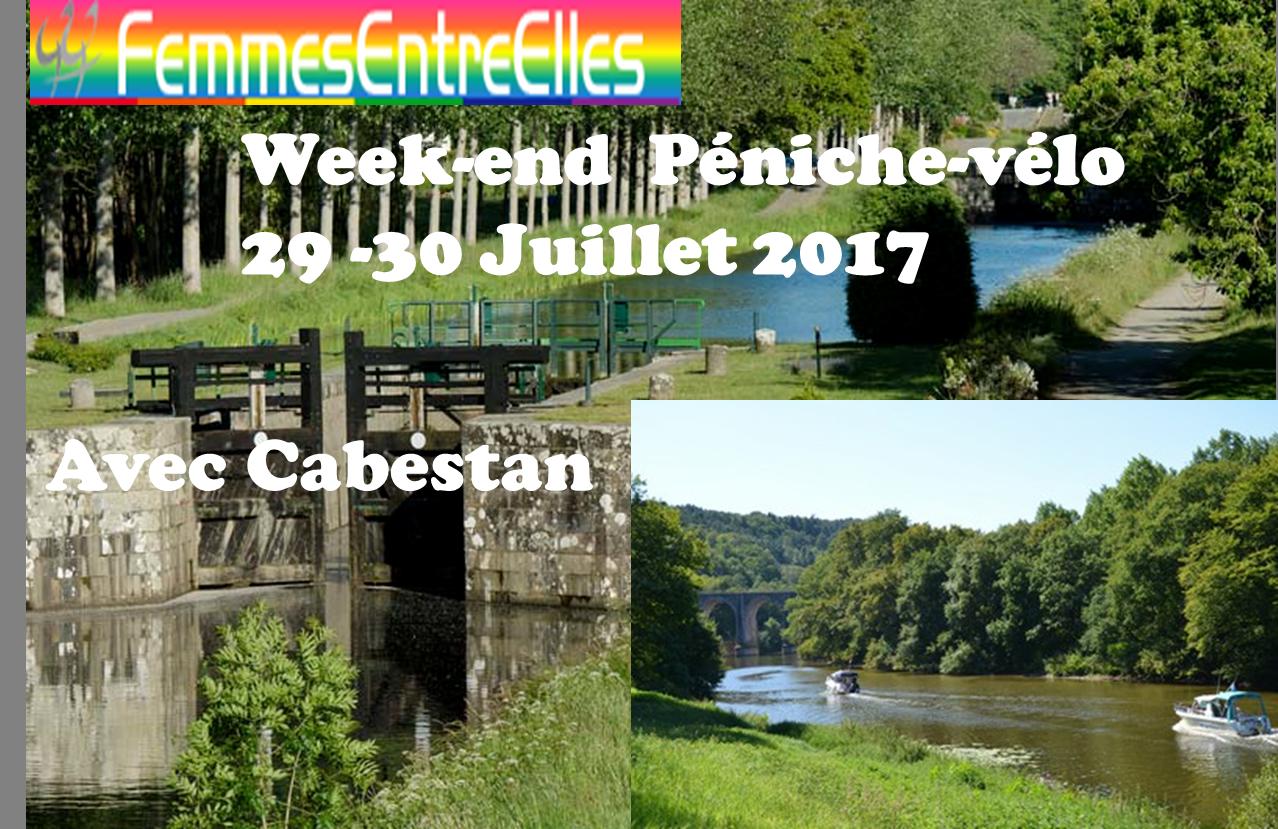 [FEE] : Week-End Péniche sur canal Ille et Rance et 29-30 Juillet 2017