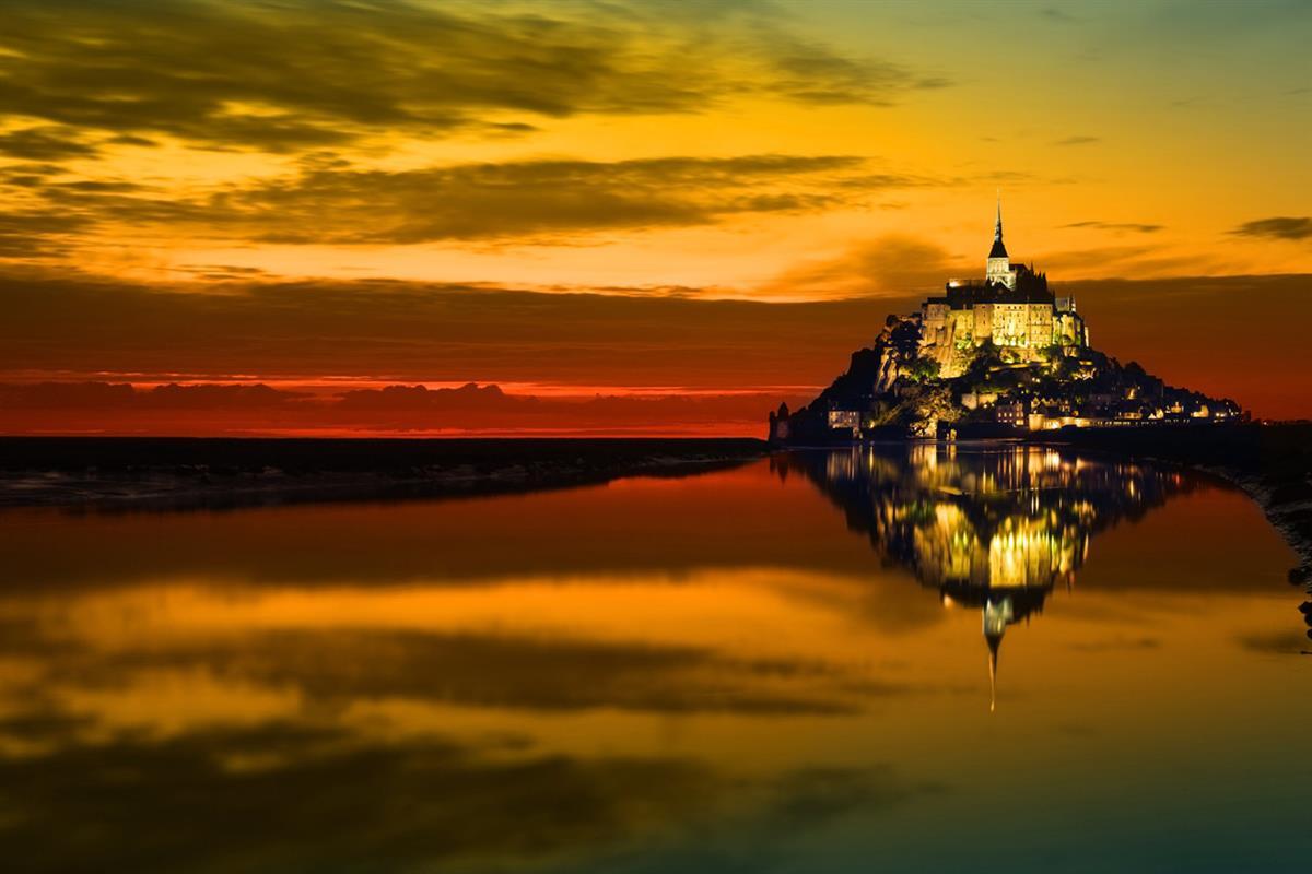29 juillet : la traversée de la baie du Mont Saint-Michel en rando nocturne...