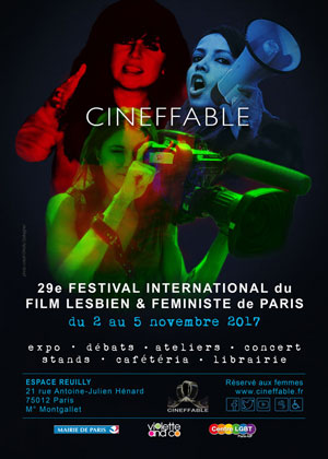 CINEFFABLE  FESTIVAL INTERNATIONAL du FILM  LESBIEN & FEMINISTE de PARIS
