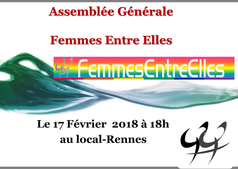 [FEE] Assemblée Générale le 17 Fevrier 2018 à 18 h au local