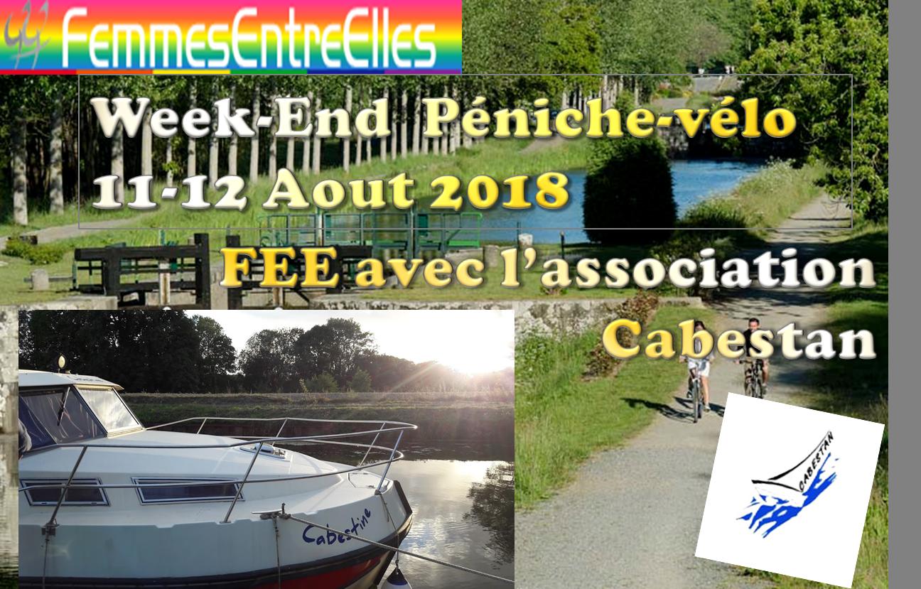 [FEE] : WE Péniche-Velo sur les bords d'Ille et Rance 11-12 Aout 2018