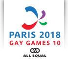 Les Gay games 2018 à Paris en direct...4-11 Aout 2018