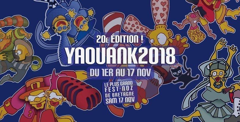 Rendez-vous au Fest-Noz YAOUANK à Rennes le 17 Novembre