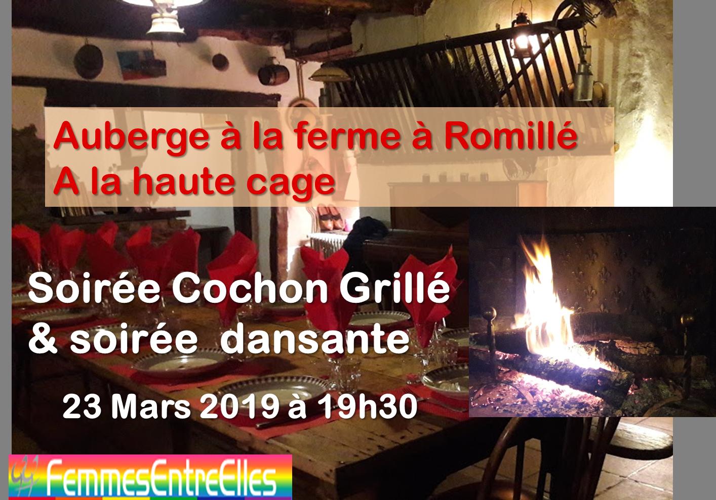 [FEE] : soirée cochon grillé dansante chez Marie Pierre le 23 Mars 2019
