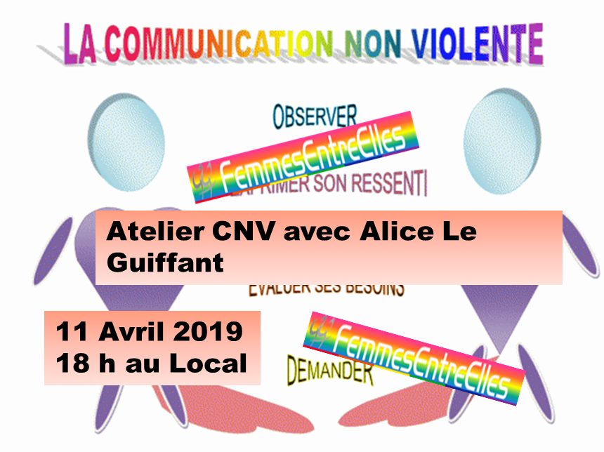 [FEE] Atelier Communication Non Violente le 11 Avril 2019