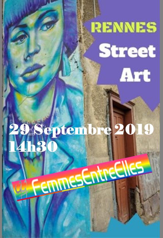 [FEE] : Street Art, visite guidée à Rennes le 29 Septembre 2019 à 14h30