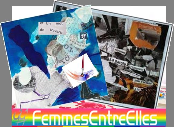 """[FEE] : Atelier """"Collage et ses alentours"""" de Joséphine, le 1er Décembre 2019"""