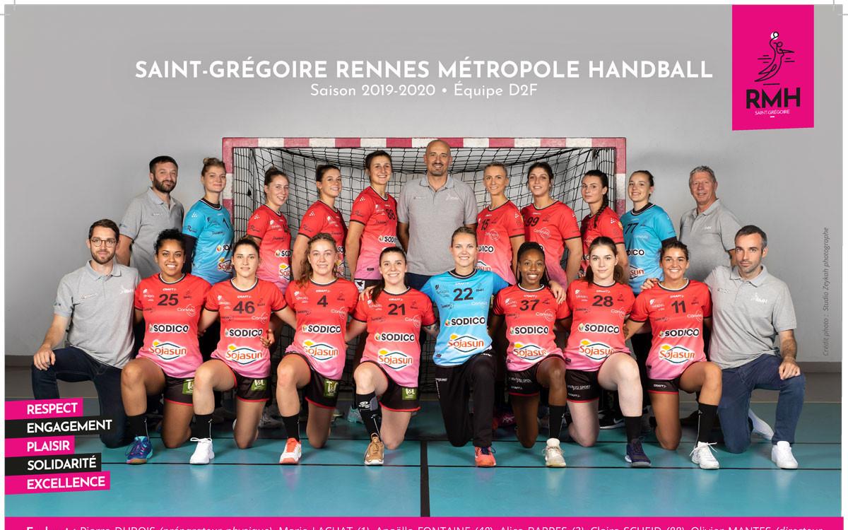 Rencontre autour du match de Handball féminin ... le19 Octobre 2019 a St Gregoire