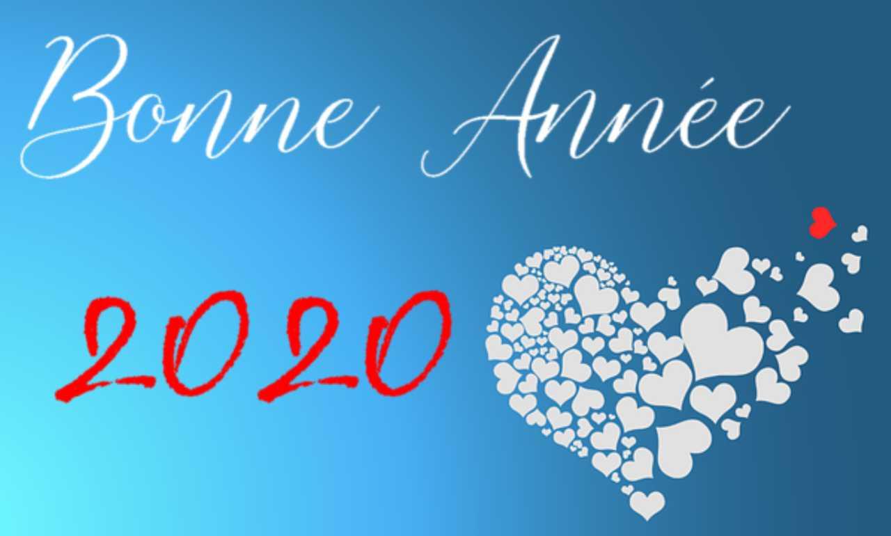 Bonne année 2020 à toutes!!!