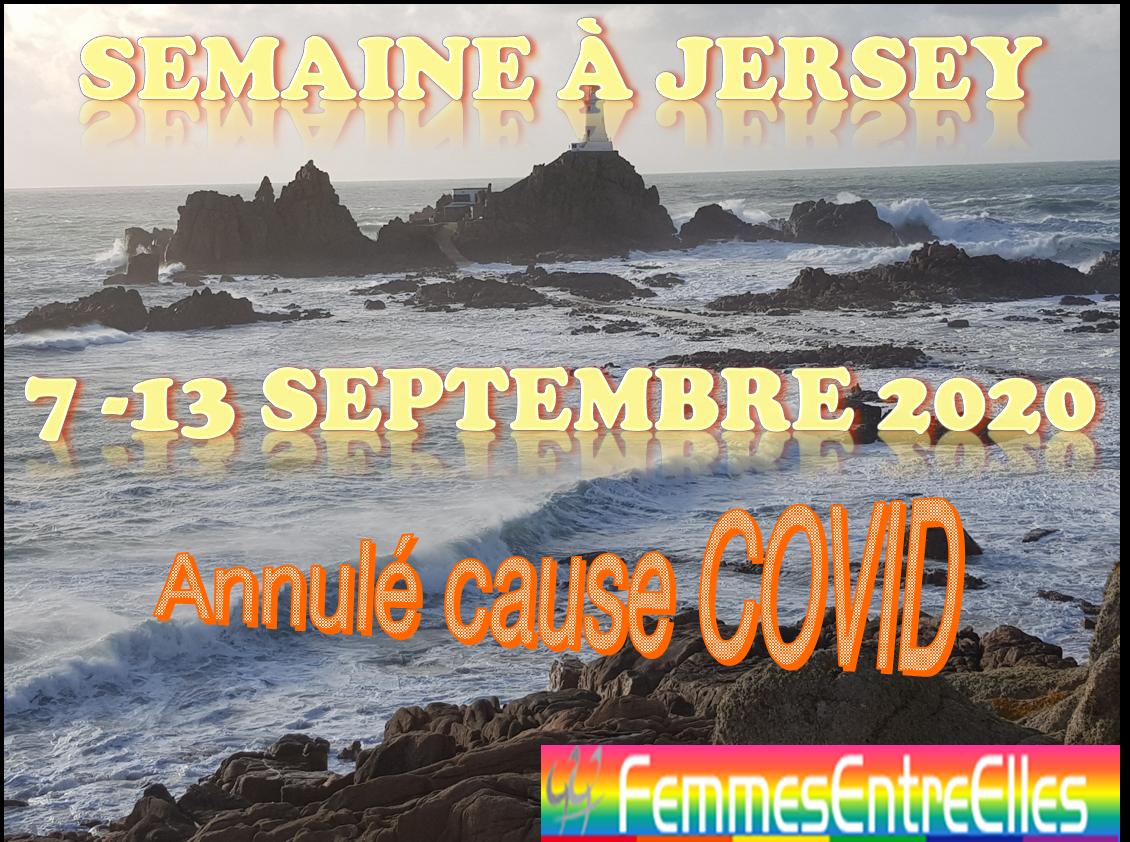 [FEE] semaine à Jersey du 7 au 13 Septembre 2020 annulée