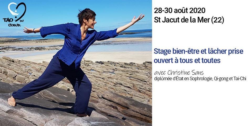 Stage bien-être & lâcher-prise à Saint Jacut de La Mer avec Christine S 28-30 Aout 2020