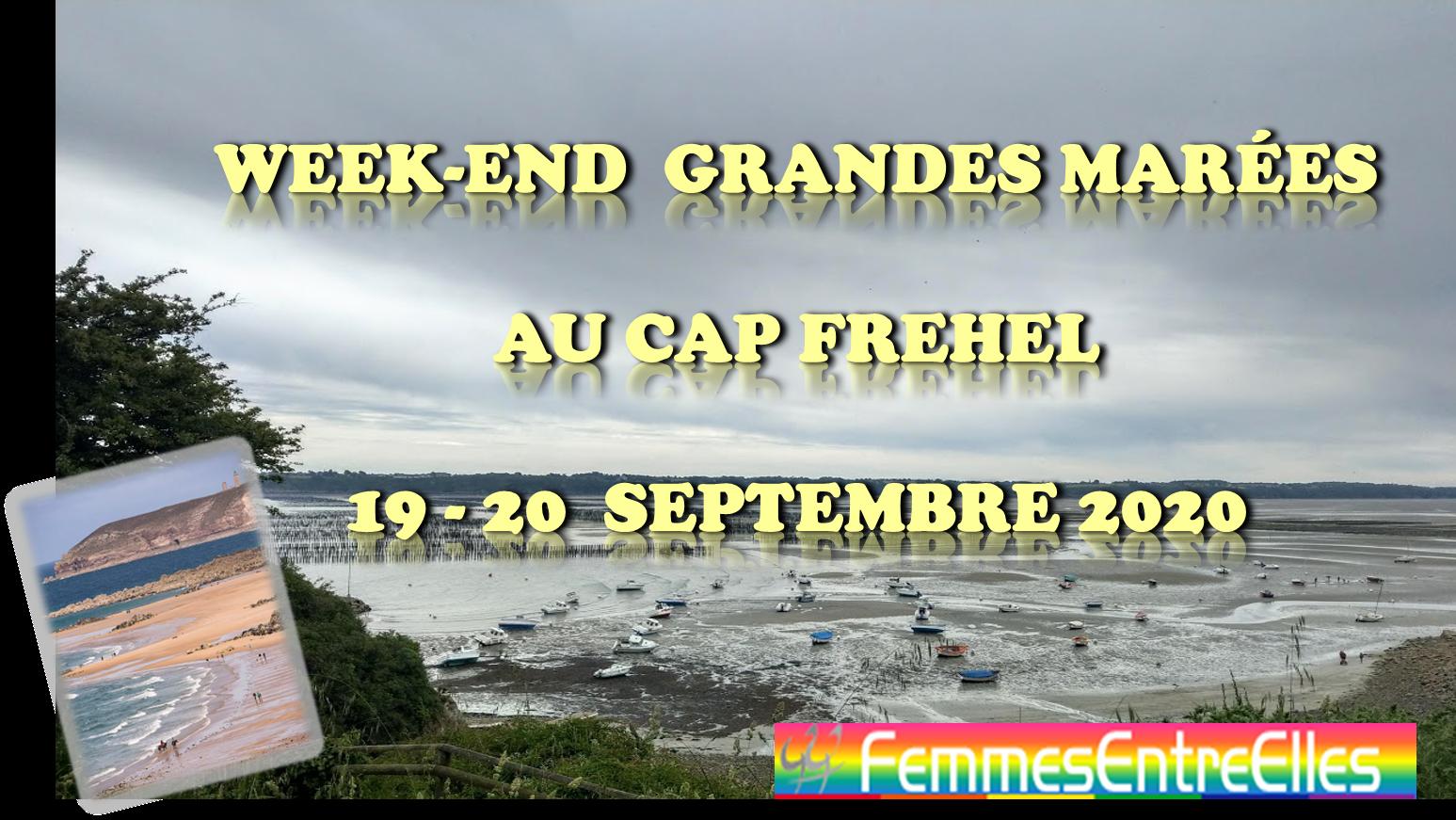 Week-end grandes marées au cap Frehel les 19 & 20 Septembre 2020