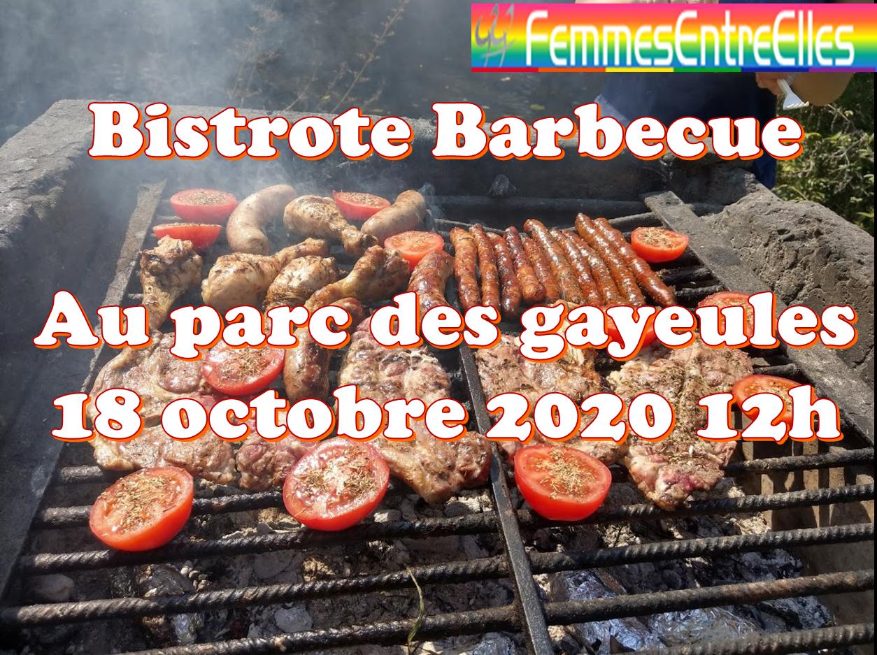 Bistrote BBQ au parc des Gayeules le 18 Octobre 2020