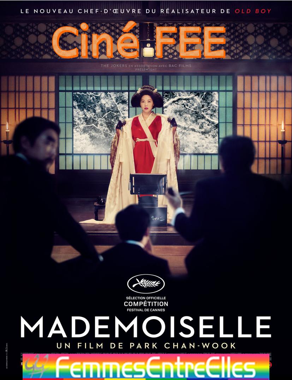 Cine-FEE au local, le 1er Novembre  2020 à 15h avec Mademoiselle (reporté)