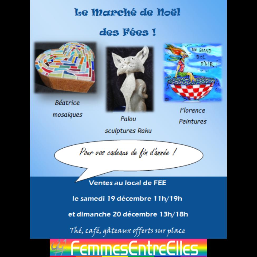 Marché de Noël des Fees les 19 & 20 décembre 2020 au local