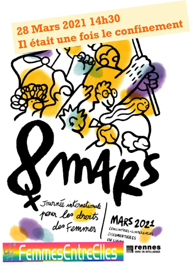 Visioconférence FEE le 28 Mars 2021 -Journées du 8 Mars 2021 avec la ville de Rennes-