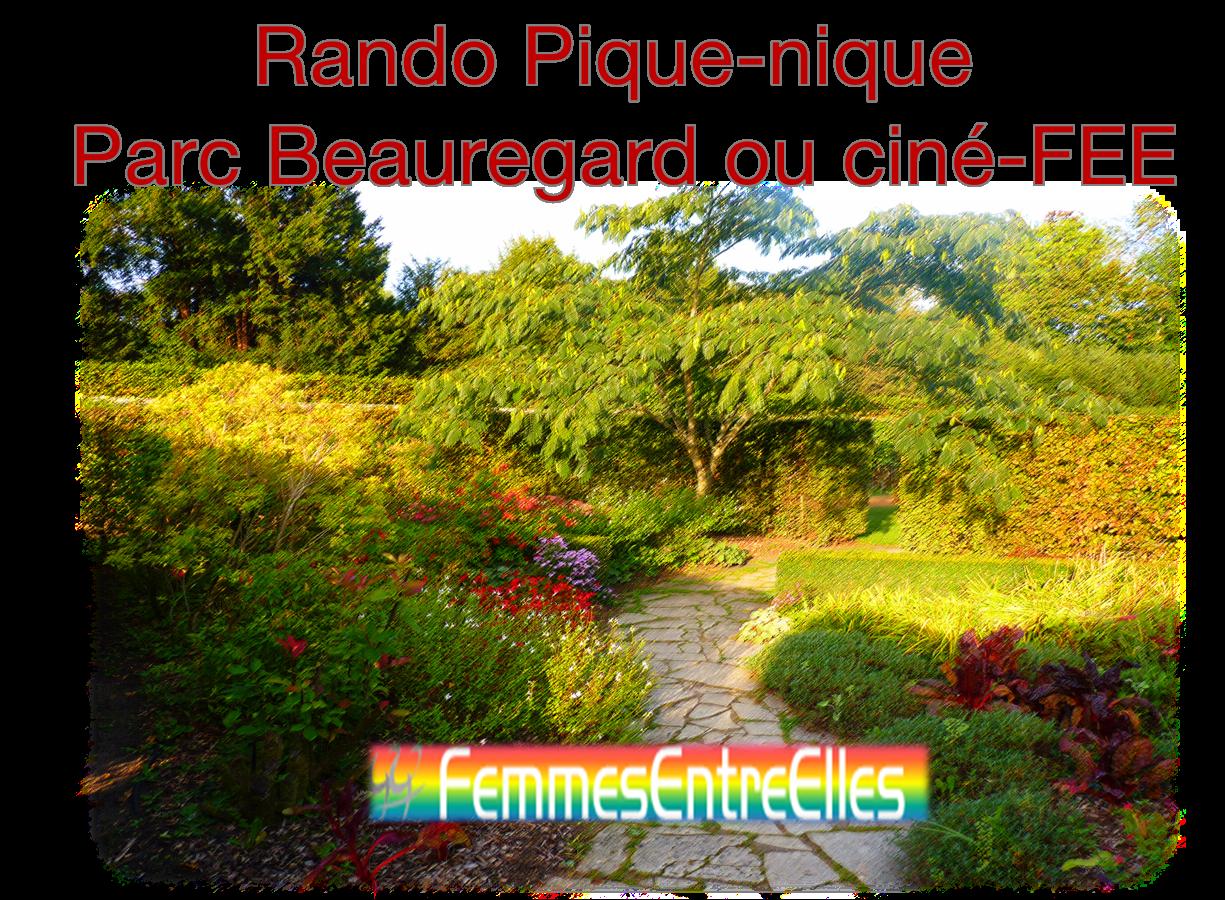 Rando Pique-nique Parc Beauregard ou ciné FEE le 15 avril 2021 à 11h45
