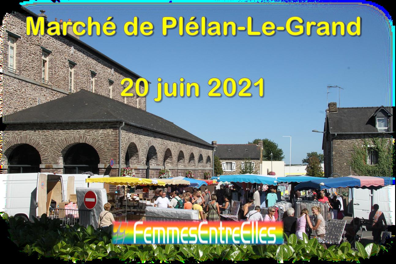 Rando Pique-nique le 20 Juin 2021 au Marché de Plélan-Le-Grand