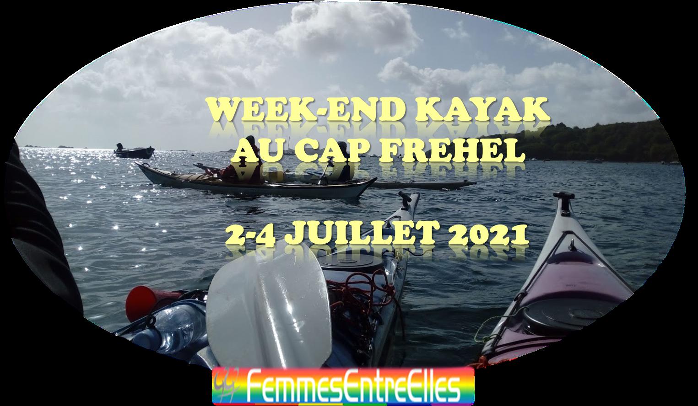 WE Kayak au cap Frehel et baie de la Fresnaye 2-4 Juillet 2021