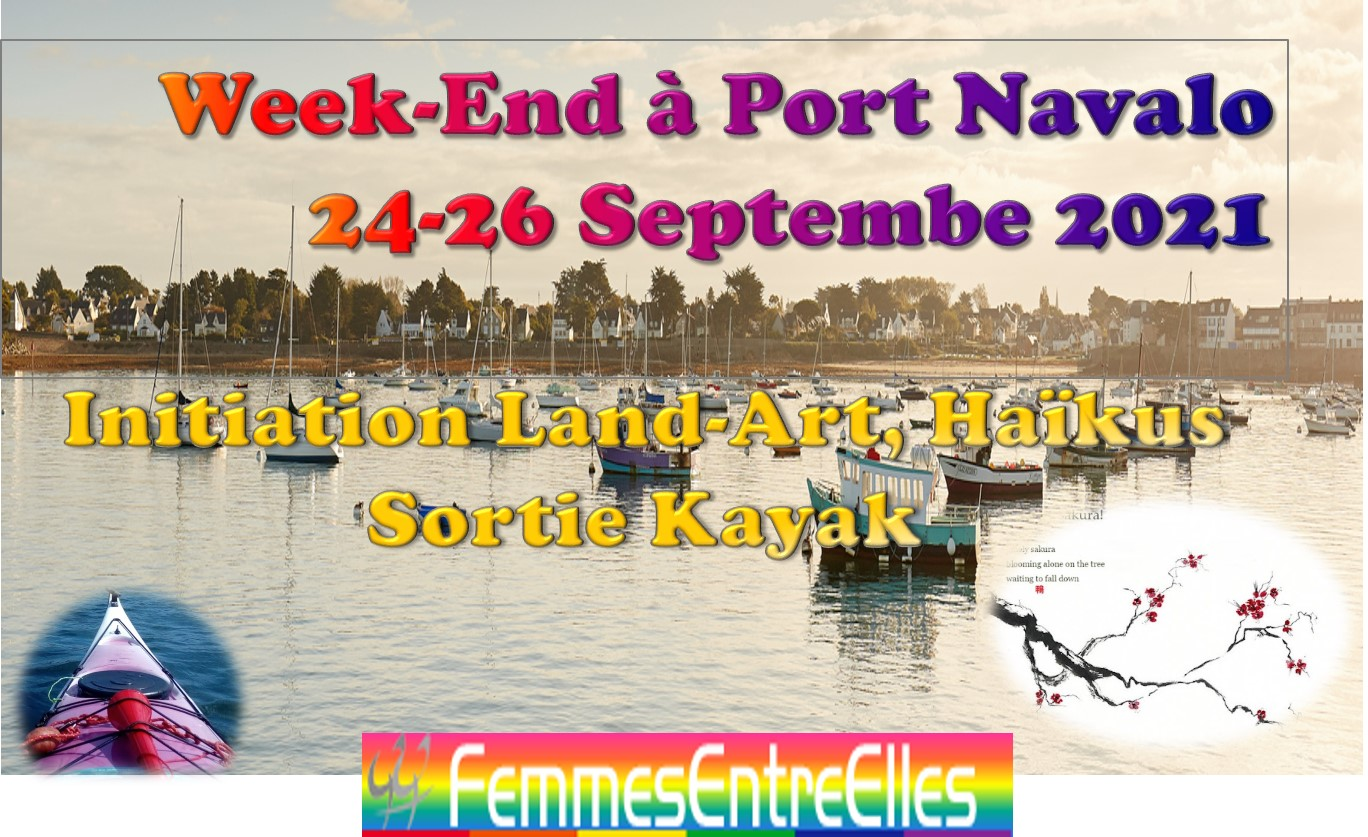 WE Land-Art & Haïkus à Port Navalo 24-26 Septembre 2021