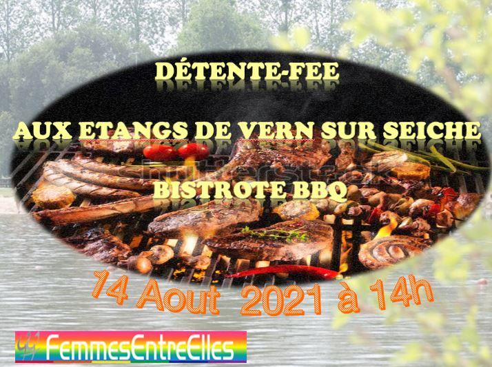 Détente FEE et bistrote BBQ  aux étangs de Vern-sur-Seiche 14 Aout 2021