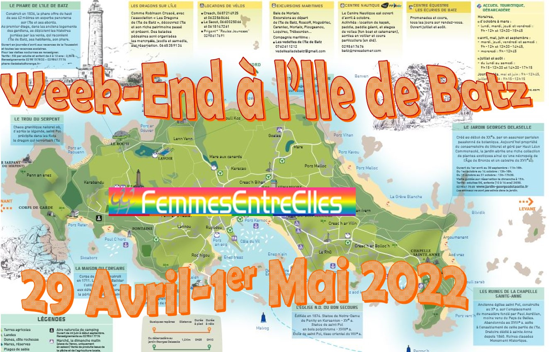 WE  à l'Ile de Batz 29-Avril-1er mai 2022