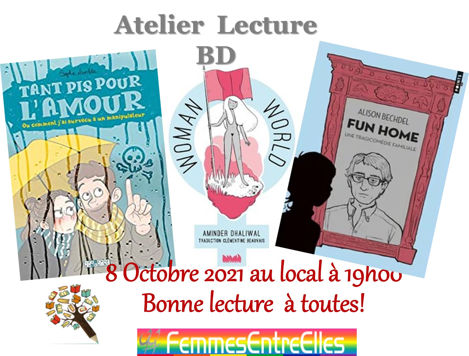 "[FEE] Atelier lecture 26 Novembre  2021, 19h au local avec ""Rupture(s)"", Claire Marin"