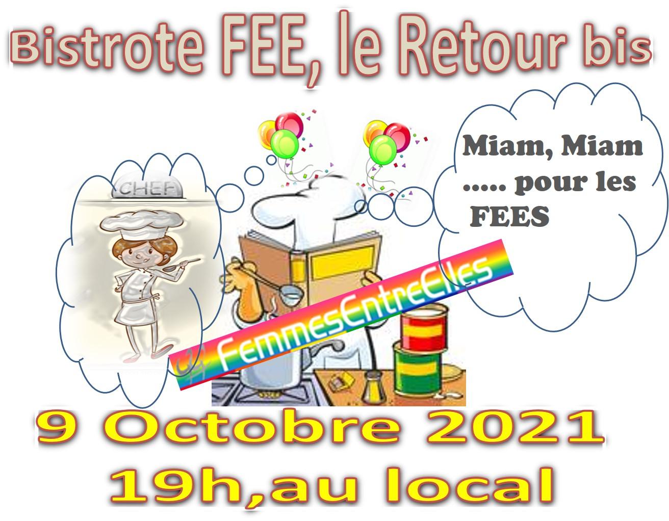 Bistrote au local 9 octobre 2021 à 19h