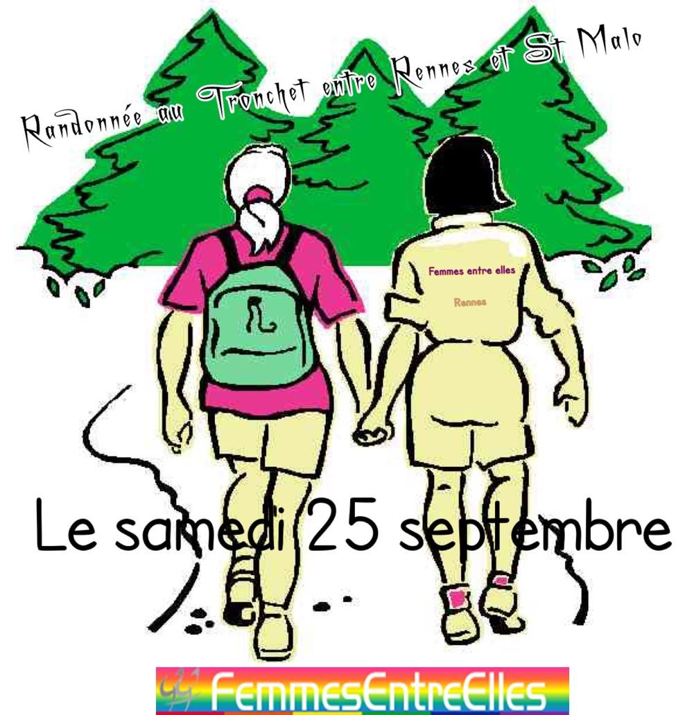 Rando le 25 Septembre 2021 autour de l'abbaye du Tronchet et ses alentours